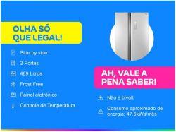 Geladeira/Refrigerador Philco Frost Free - Side by Side 489L PRF504I